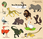 More animals for GaiaPark by Henrieke