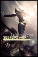 I can give you sound power by guw