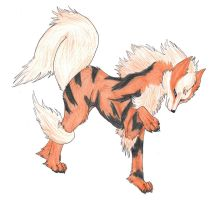 My Arcanine :3 by Eclipsedwolf