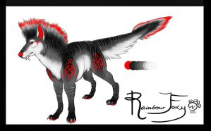 Mohawk Hound adoptable 1 (closed) by Rainbow-Foxy