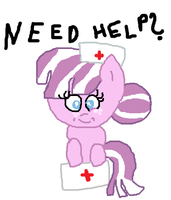 Nurse pony by cottoncloudyfilly