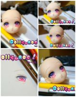 Custom Anime Obitsu- Sweet shiny eyes by H--neko