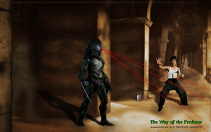WHAT IF: BRUCE LEE: THE WAY of the PREDATOR by CSuk-1T