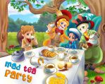 Nusantara:Mad Tea Party by Bayou-Kun