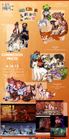 Commission Prices by Panderoo