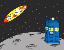 TARDIS by superiorjello