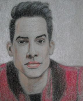 Brendon Urie (Prismacolor - first attempt) by decaygirl13