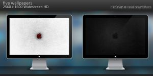 Apple Leather - Wallpaper Pack by MeXuT