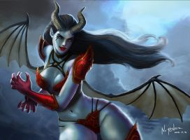 Queen of Pain by sibuloy