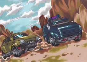 race around Jasper Nevada by Jonou