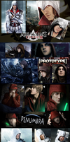Hooded Characters - In Real Life by SovietMentality