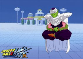 Piccolo on the Lookout by kingvegito