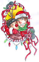12 Days of Spones: Day 2: Candy Cane Lane by Cloud-Tentacles