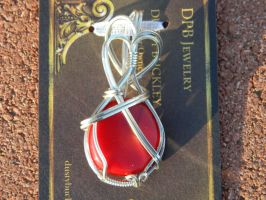 Coral in Argentium silver by DPBJewelry