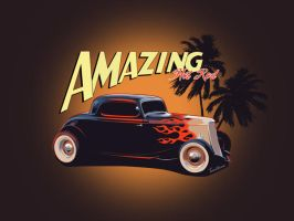 Amazing Hot Rod by TAntoine