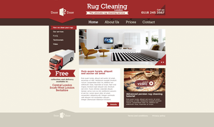 rug cleaning front page by Trockij