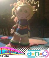 Monitos: Rainbow Brite by arancrafts