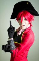 Young Grell Sutcliff: Shinigami Undercover by ohjisamaXmarc