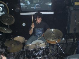 Me On Drums by Lucifer666mantus
