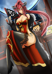 League Of Legends Chineses shyvana by Varuna00