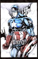 Captain America Copics by devgear