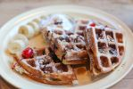 Ice cream waffles by patchow
