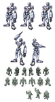 Andromon Repaired Sprite by Wooded-Wolf