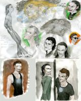 The Avengers sketchdump by theSARUTO