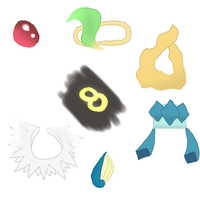 PMD-E Eeveelution Accessory Suggestions by Moss-Stone