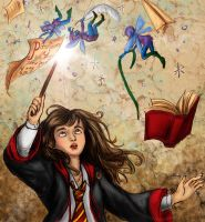 HP Hermione Collab by Verlisaerys