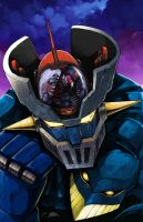 Mazinger-Z colored by dovianax