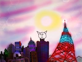 City Of Tokyo by MegaDISASTER