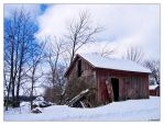 Winter Barns 2 by Limaria