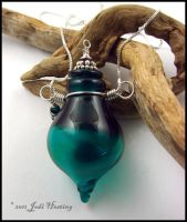 Glass Lampwork Perfume Vessel by Beadworx