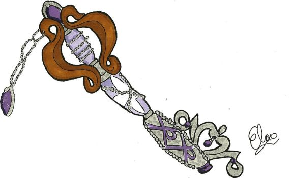 Keyblade Design- Sofia the First by Project-GAME