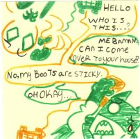 Baman Piderman Sticky Note by PencilCat