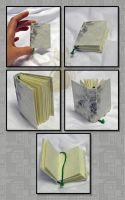 Recycled Bookbinding by MyntKat