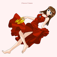 New Oc: Princess Crimson by Hero-of-Awesome