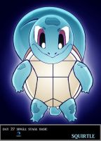 Day 27 Squirtle by Jacklave