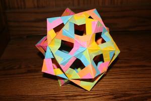 Origami Paper Folded Thing by MuggleHater