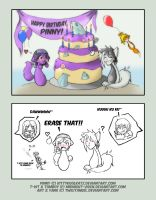 Pinny's 8th Birthday by TwilitAngel