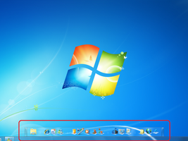 Windows 7 Dock by MP7000