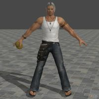 DOA5U Brad Wong costume 3 (UPDATED) by zareef