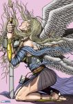Commission Angel Transformation 04 of 05 Color by leandro-sf