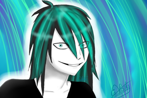 Jeff the Killer - Cold hair by Kitzie-Melody