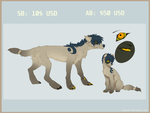 ADOPT Canine AUCTION (CLOSED) by Vongrell