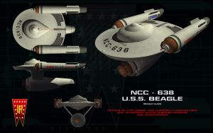 Beagle class ortho - USS Beagle by unusualsuspex