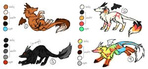 Draco Wolves Adoption: 1 OPEN by NewHopeRescue