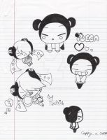 Pucca and Puchia -in-style- by capcappucca222