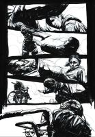 Silent Hill #2 Page 8 Original Art by T-RexJones